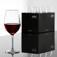 Krystal Rødvinsglas