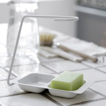 Opvaskebørsteholder, hvid