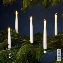 Juletræslys, Carolin, 10 stk.