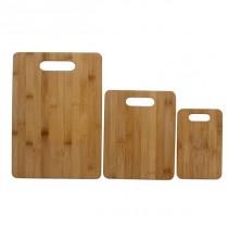 Bambus Skærebræt, sæt a 3