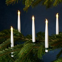 Juletræslys, Carolin, 4 stk.