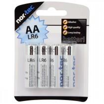 AA Batteri, 4 stk.