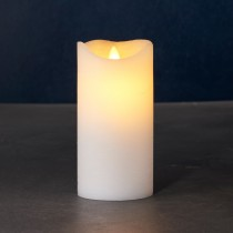 Hvidt Lys, Sara Exclusive, Ø:7,5, Stor