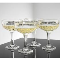 Harvey Champagneskåle, 4 stk.