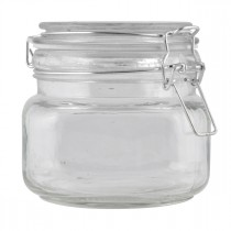 Glasbeholder, 0,5 L.