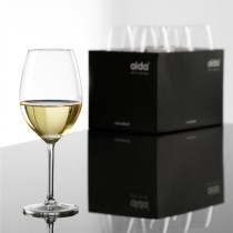 Krystal Hvidvinsglas