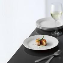 Hvid Tallerken, Middag, 6 stk.