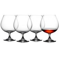 4 stk. Cognacglas, Lyngby