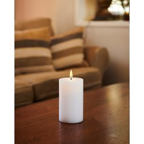 LED-lys, Genopladelig, Hvid, 12,5 Cm