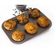 Muffinsform, 6 huller