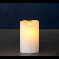Hvidt Lys, Sara Exclusive, Ø:7,5 cm., Mellem