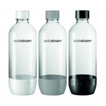 SodaStream, 1 liter flaske, PET, 3 stk.