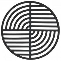 Bordskåner, Zone-Cirkel, Sort